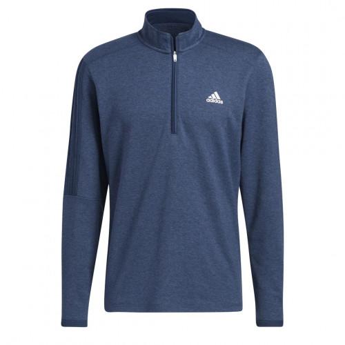 adidas Golf 3-Stripes 1/4 Zip Layering Sweatshirt