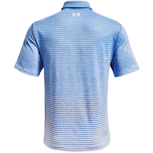Under Armour Mens Playoff Polo Up and Down Stripe reverse