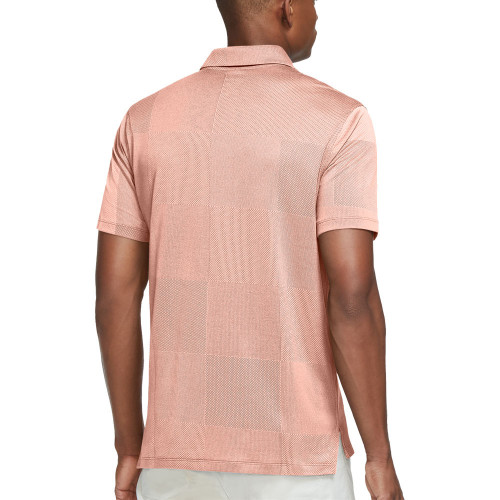 Nike Dri-Fit Vapor Jacquard Golf Polo Shirt reverse