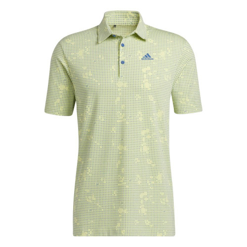 adidas Golf Night Camo-Print Primegreen Polo Shirt