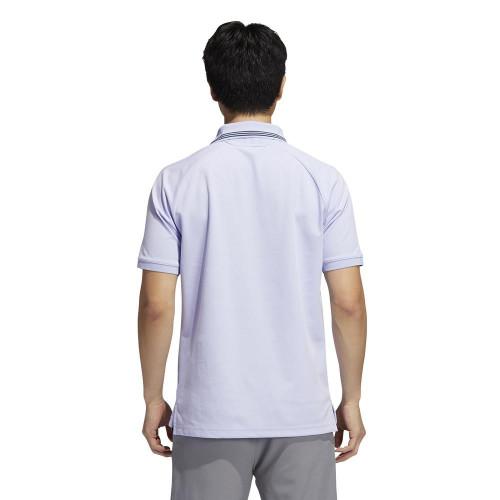 adidas Golf Go-To Pique Primegreen Polo Shirt reverse
