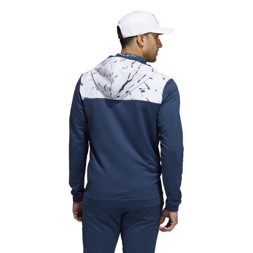 adidas Golf Primeblue COLD.RDY Half-Zip Pullover reverse