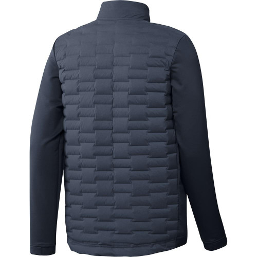 adidas Golf Frostguard Recycled Content Full-Zip Padded Jacket reverse
