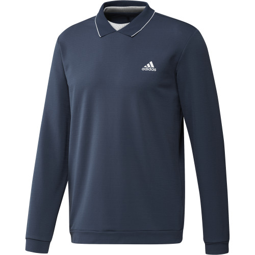adidas Golf Thermal Primegreen Long Sleeve Polo Shirt