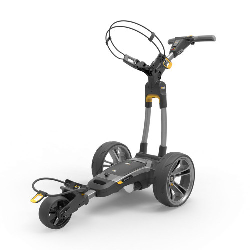 PowaKaddy CT6 GPS Gun Metal Electric Golf Trolley 18 Hole Lithium Battery / NEW 2021