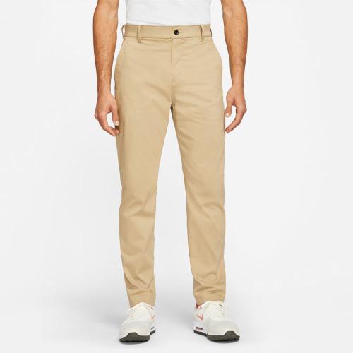 Nike Golf Dri-Fit UV Chino Pants Slim Trousers (Parachute Beige)
