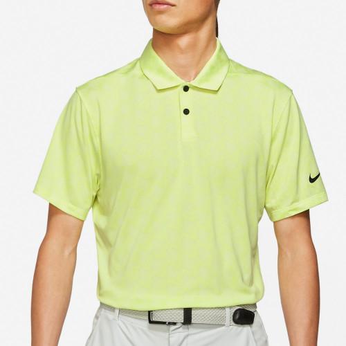 Nike Golf Dri-Fit Vapor Jacquard Polo Shirt (Light Lemon Twist)