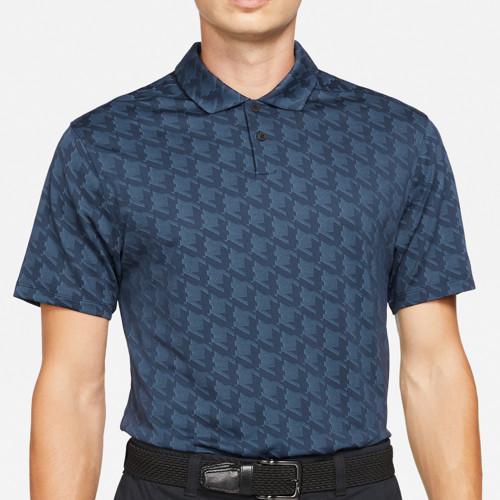 Nike Golf Dri-Fit Vapor Jacquard Polo Shirt (Obsidian)