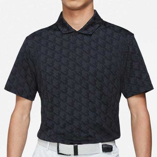 Nike Golf Dri-Fit Vapor Jacquard Polo Shirt (Black)