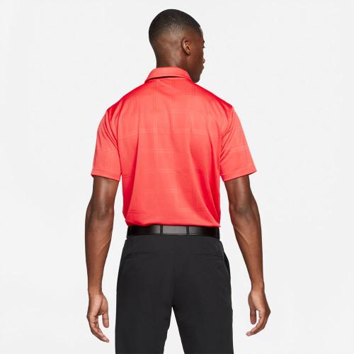 Nike Golf Dri-Fit Vapor Texture Polo Shirt  - Track Red