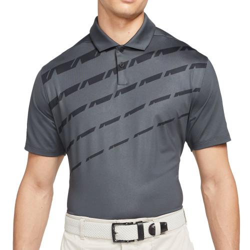 Nike Golf Dri-Fit Vapor Graphic Polo Shirt (Dark Smoke Grey)
