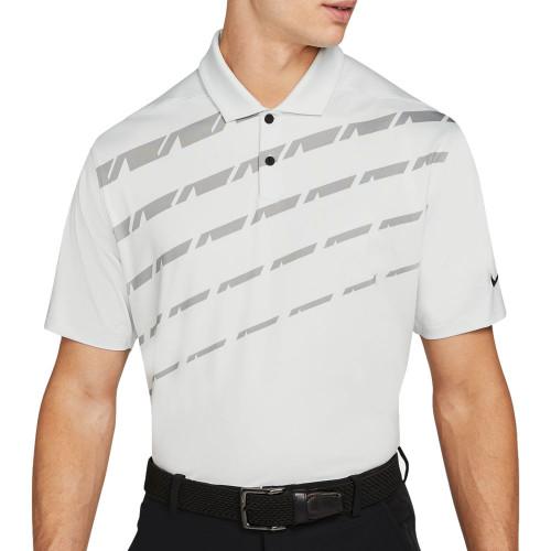Nike Golf Dri-Fit Vapor Graphic Polo Shirt  - Photon Dust