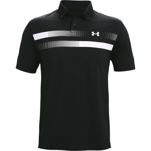 Under Armour Mens Performance Graphic Golf Polo Shirt