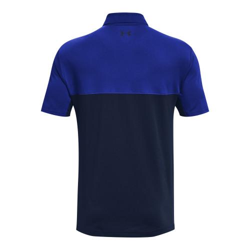 Under Armour Mens Colorblock Golf Polo Shirt reverse