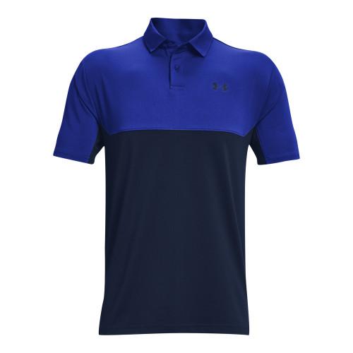 Under Armour Mens Colorblock Golf Polo Shirt