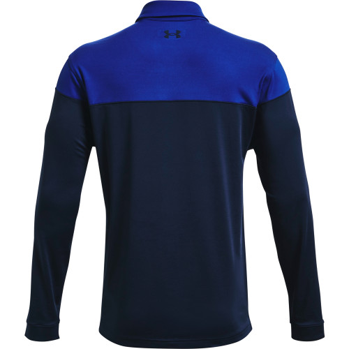 Under Armour Mens Long Sleeve Playoff Novelty Golf Polo Shirt reverse