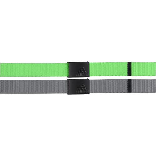 adidas Golf Mens Reversible Webbing Belt reverse