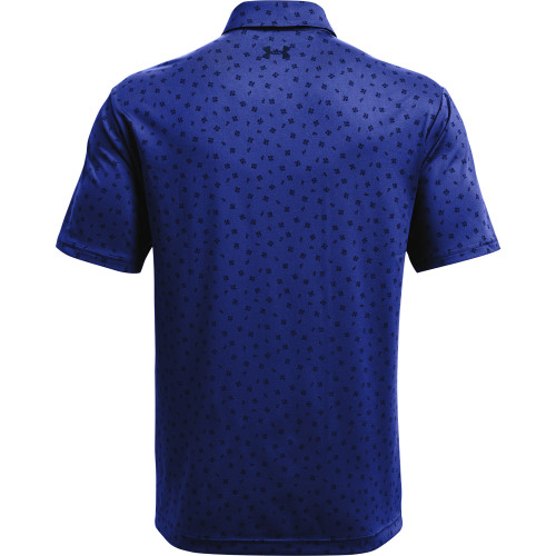 Under Armour Mens Playoff Polo Palace Scramble Print reverse