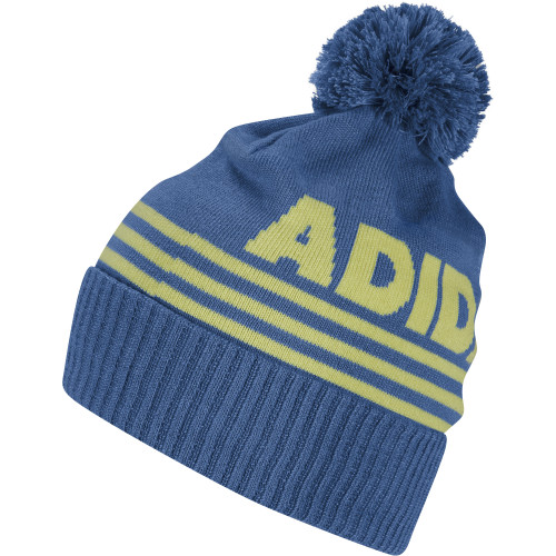 adidas Golf Mens Font Pom Beanie Thermal Warm Winter Hat