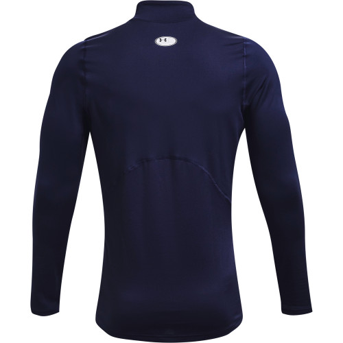 Under Armour Mens ColdGear Armour Fitted Mock Base Layer reverse