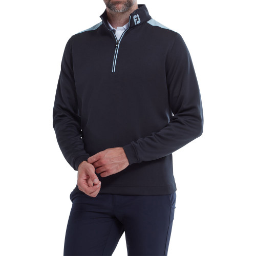 FootJoy Woven Yoke Chill Out Golf Pullover