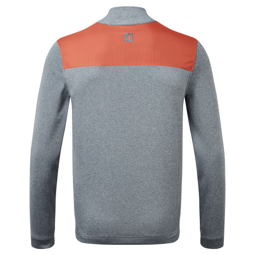 FootJoy Woven Yoke Chill Out Golf Pullover reverse