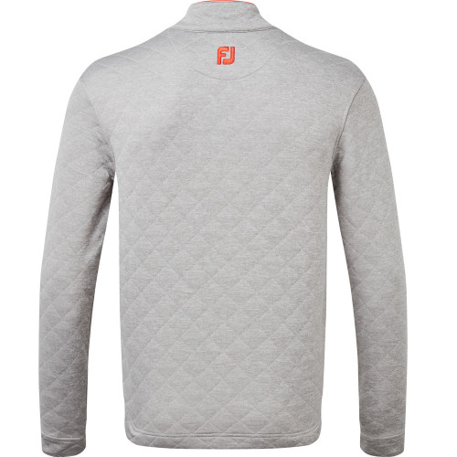 FootJoy Diamond Quilted Chill Out Extreme Golf Pullover reverse