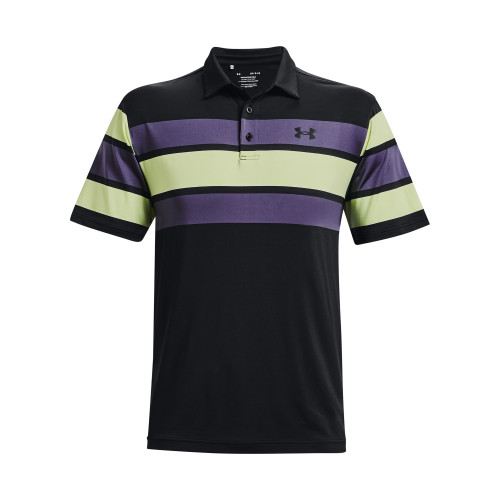 Under Armour Mens Playoff Polo Block Stripe