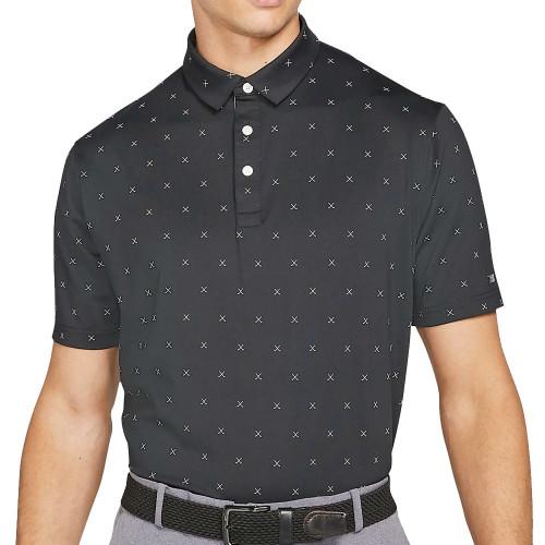 Nike Golf Dri-Fit Player Club Print Polo Shirt