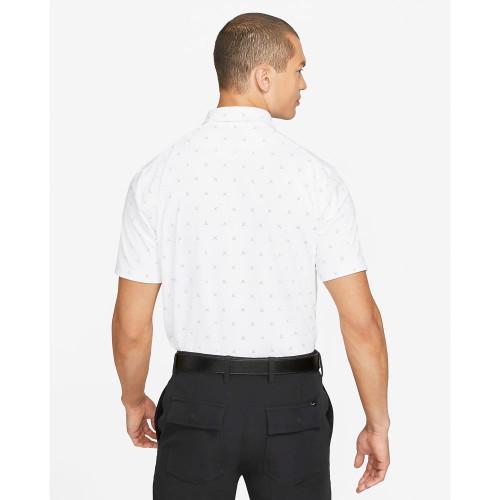 Nike Golf Dri-Fit Player Club Print Polo Shirt reverse