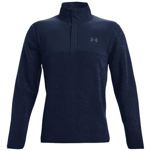 Under Armour Mens Pile Sweater Fleece Golf Top