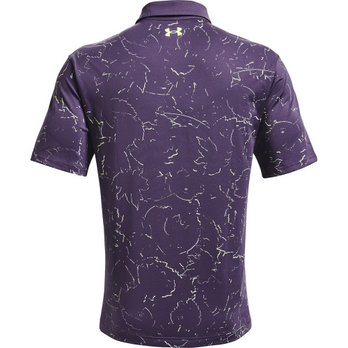 Under Armour Mens Playoff 2.0 Backwoods Print Polo Shirt reverse