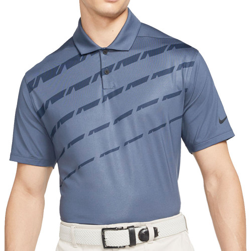 Nike Golf Dri-Fit Vapor Graphic Polo Shirt (Thunder Blue)